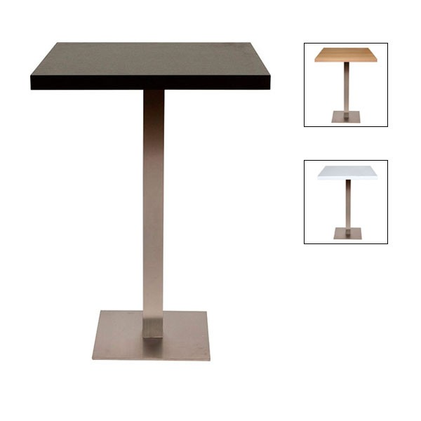 Square Piazza Poseur Table