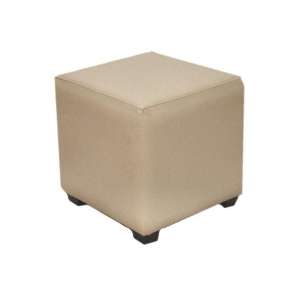 Cream Cube Stool