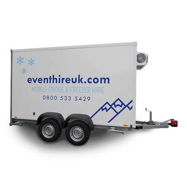 3.6m Mobile Trailer Freezer