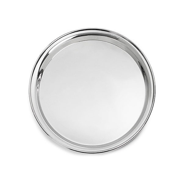 Stainless Steel Round Drinks Tray