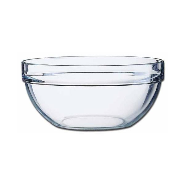 Glass Round Salad Bowl