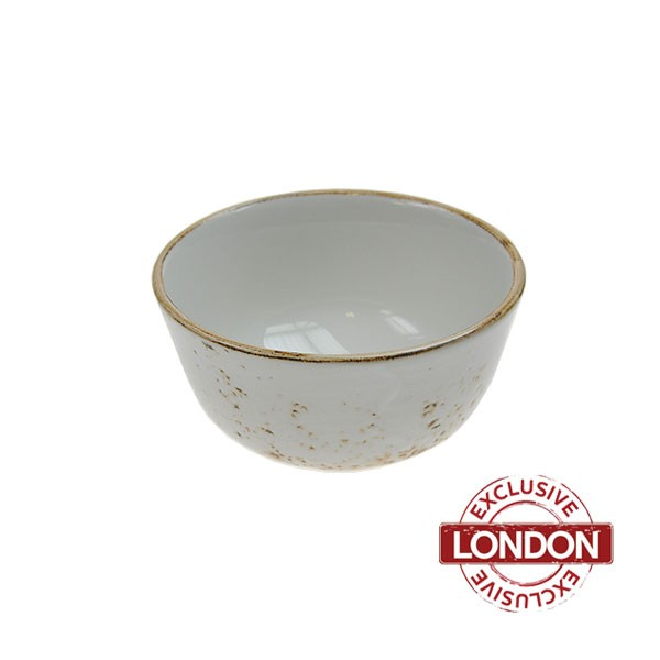 Speckled White Tasting Bowl