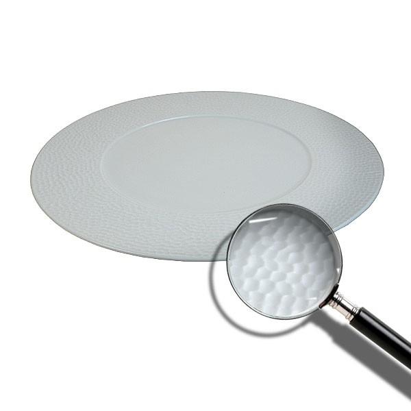 Martello Fine White China Plate 31cm