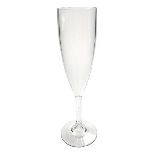 Reusable Polycarbonate Elite Champagne Flute 7oz