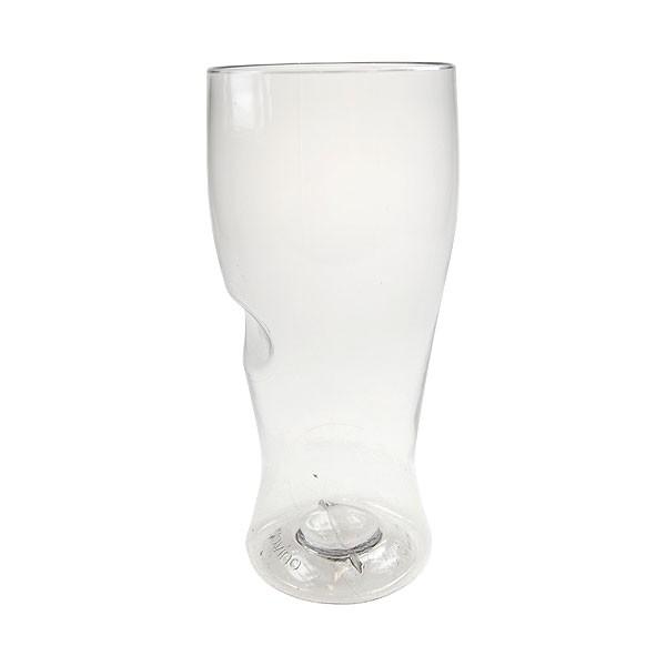 Govino Reusable Plastic Bottled Beer Glass 16oz