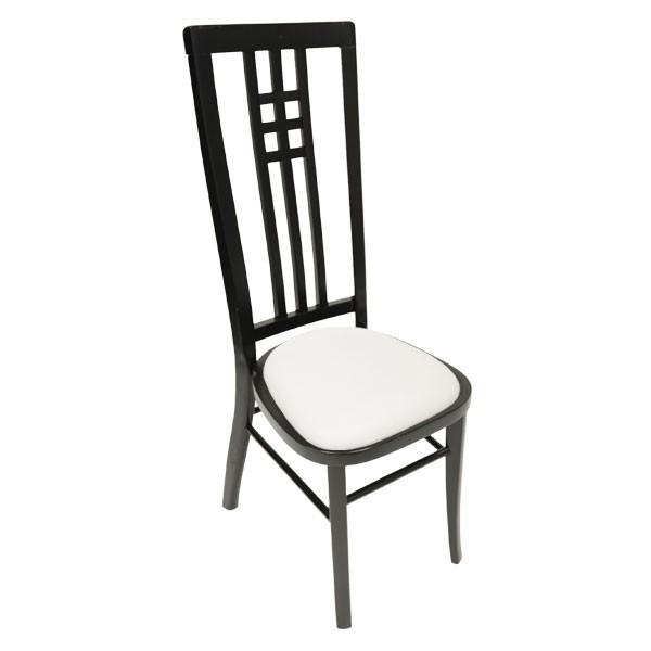 Black Calcutta High Back Chair