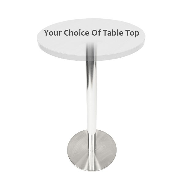 Deluxe Oro Poseur Table