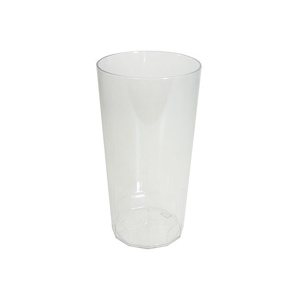 Reusable Plastic Hi Ball Half Pint Glass