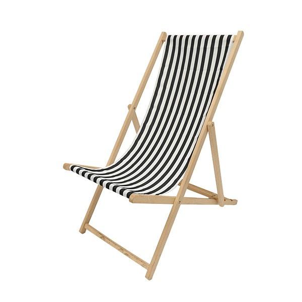 Black & White Deckchair