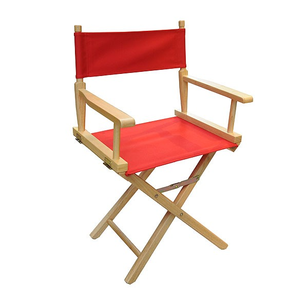 Red Directors Chair