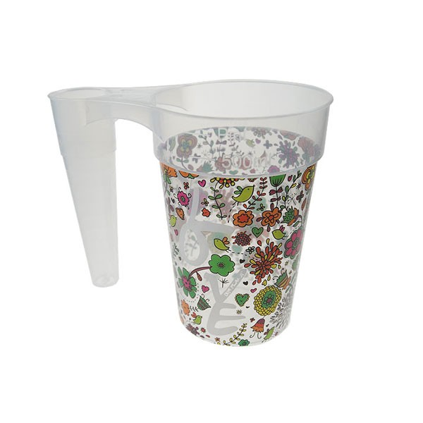 STACK-CUP™ Festival Reusable Plastic Half Pint