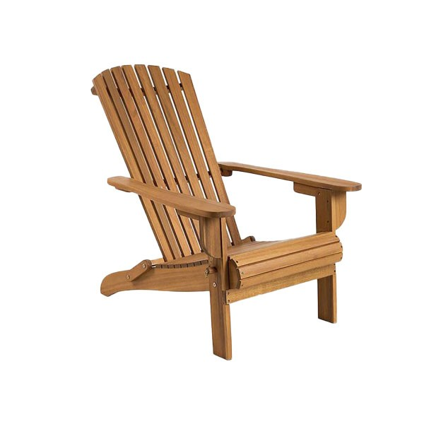 Folding Hardwood Armchair