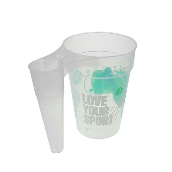 STACK-CUP™ Sport Reusable Plastic Half Pint