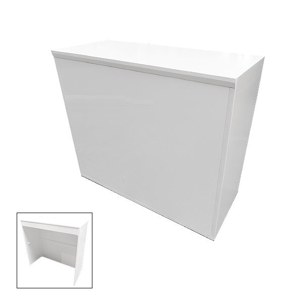 Modular White Reception Desk