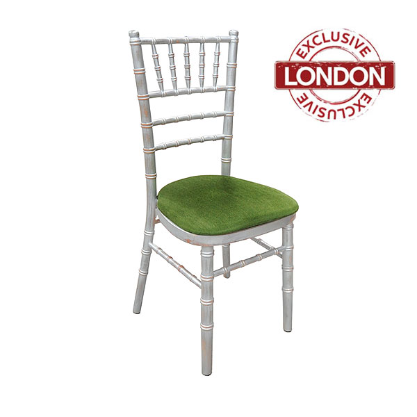 Silverwash Chiavari Chair Hire