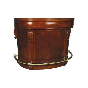 Curved Traditional Bar Unit Hire
