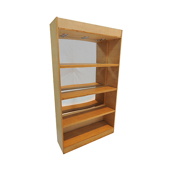 Mirror Bar Illuminated Rear Shelf Unit