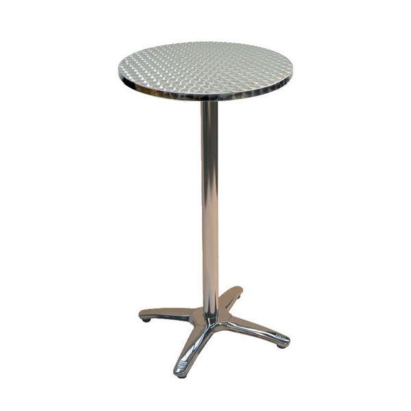 Jem Aluminium Round Poseur Table
