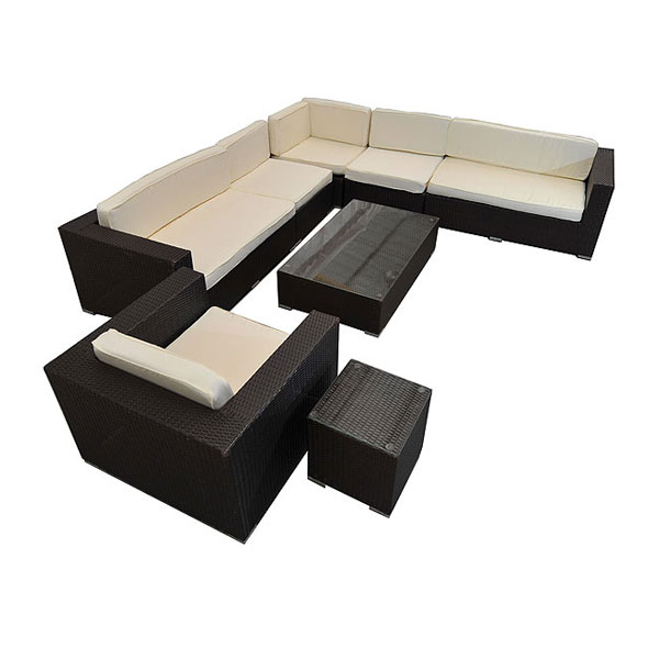 8 Seater Outdoor Rattan Furniture Set