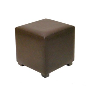 Brown Cube Stool