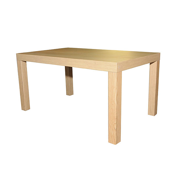 Large Oak Effect Coffee Table