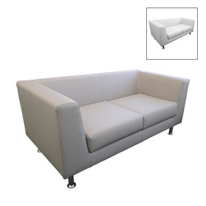 Infiniti 2 Seater Leather Sofa