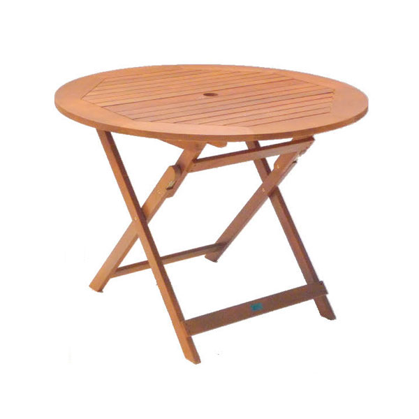 Round Hardwood Table