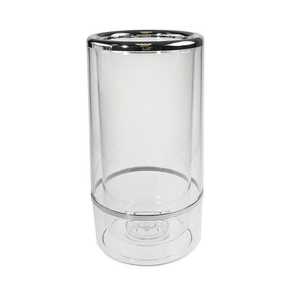 Double Wall Single Bottle Acrylic Wine Cooler