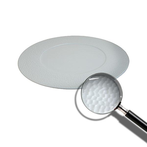 Martello Fine White China Plate 27cm