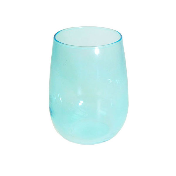 Luna Blue Water Glass 17oz