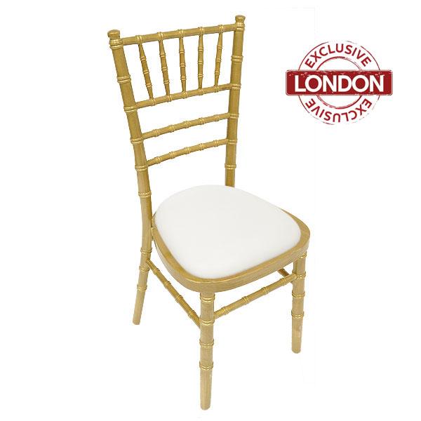 Antique Goldwash Chiavari Chair Hire