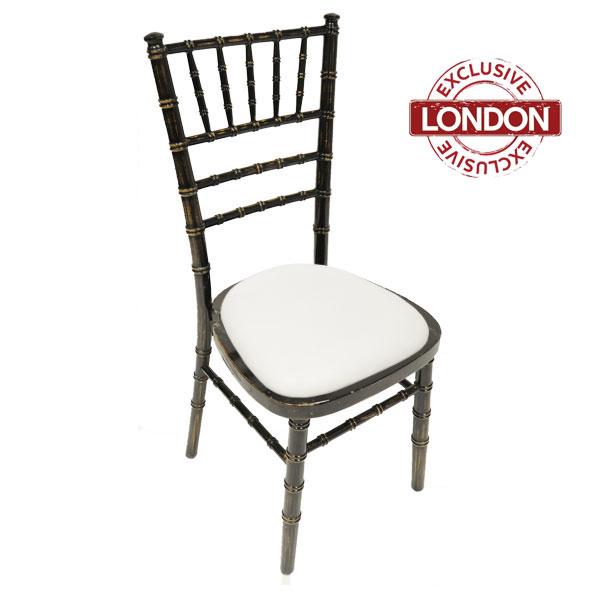 Blackwash Chiavari Chair Hire