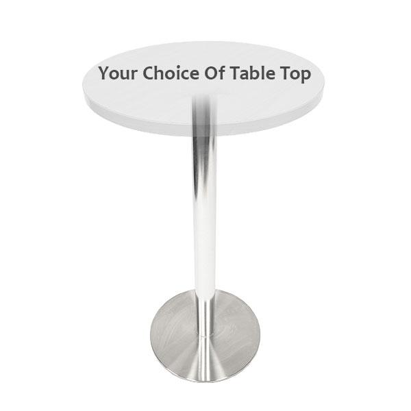 Deluxe Oro Poseur Table
