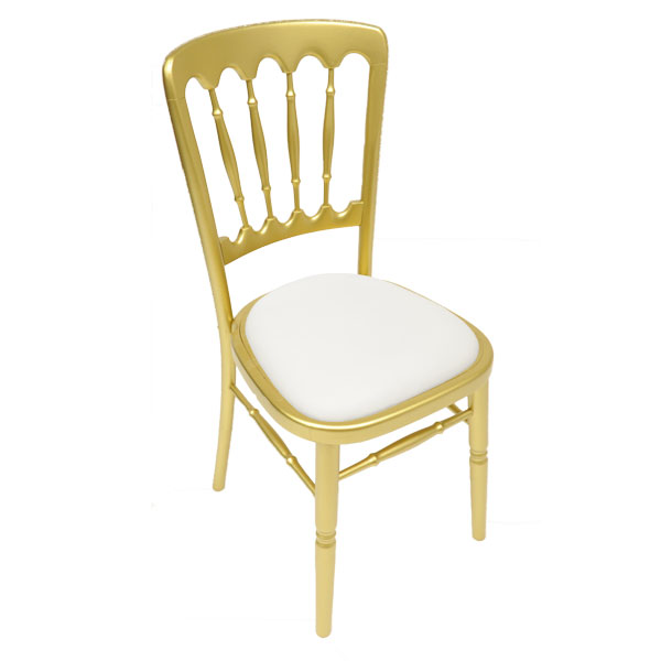 Gilt Napoleon Chair Hire