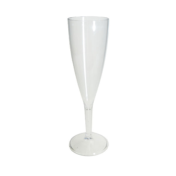 Reusable Plastic Champagne Glass