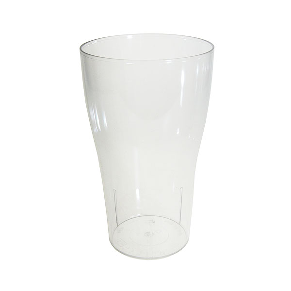 Reusable Plastic Tulip Pint Glass