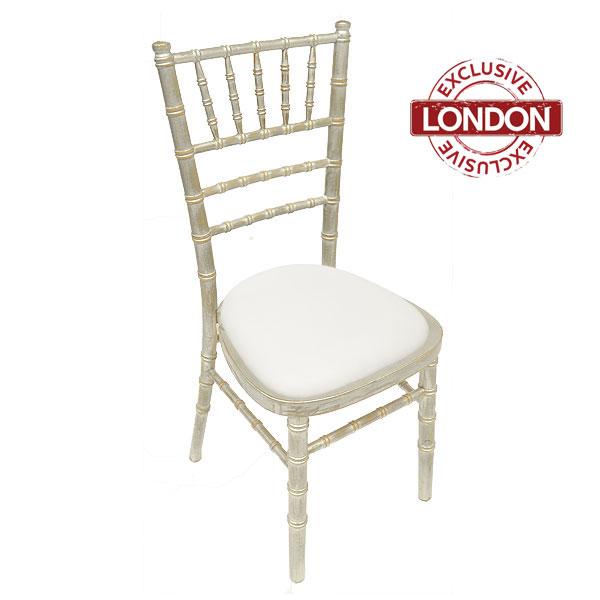 Silverwash Chiavari Chair Hire