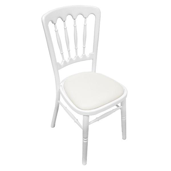 White Napoleon Chair Hire