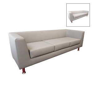 Infiniti 3 Seater Leather Settee