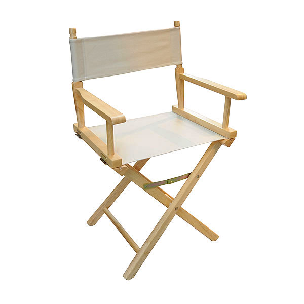 Natural Directors Chair