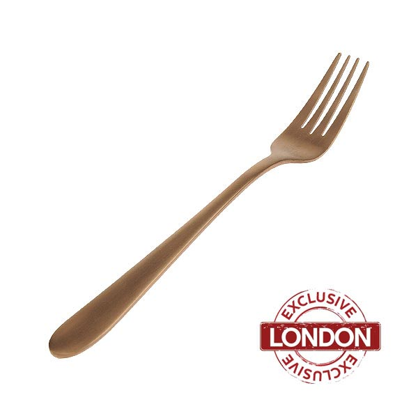 Enamor Copper Dinner Fork