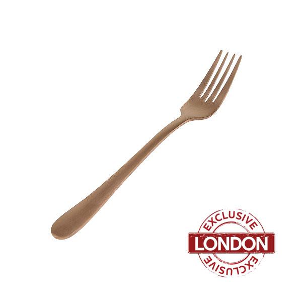 Enamor Copper Starter / Dessert Fork