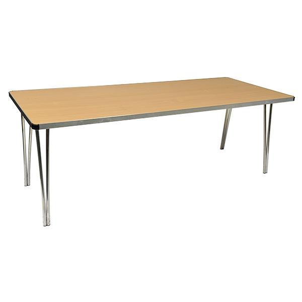 Low 6ft Rectangular Folding Table
