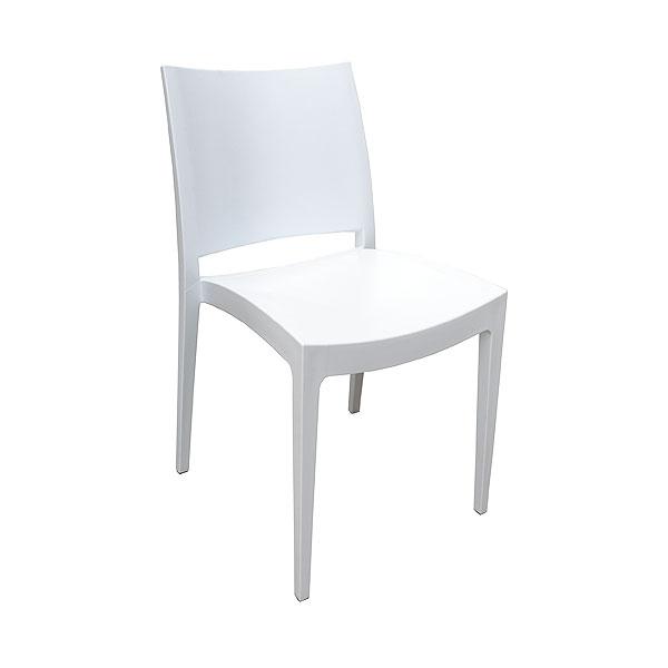 White Maya Chair