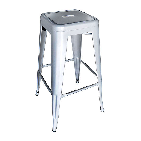 Tolix Stool Silver