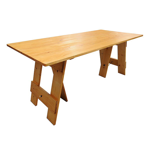 Vintage Trestle Table