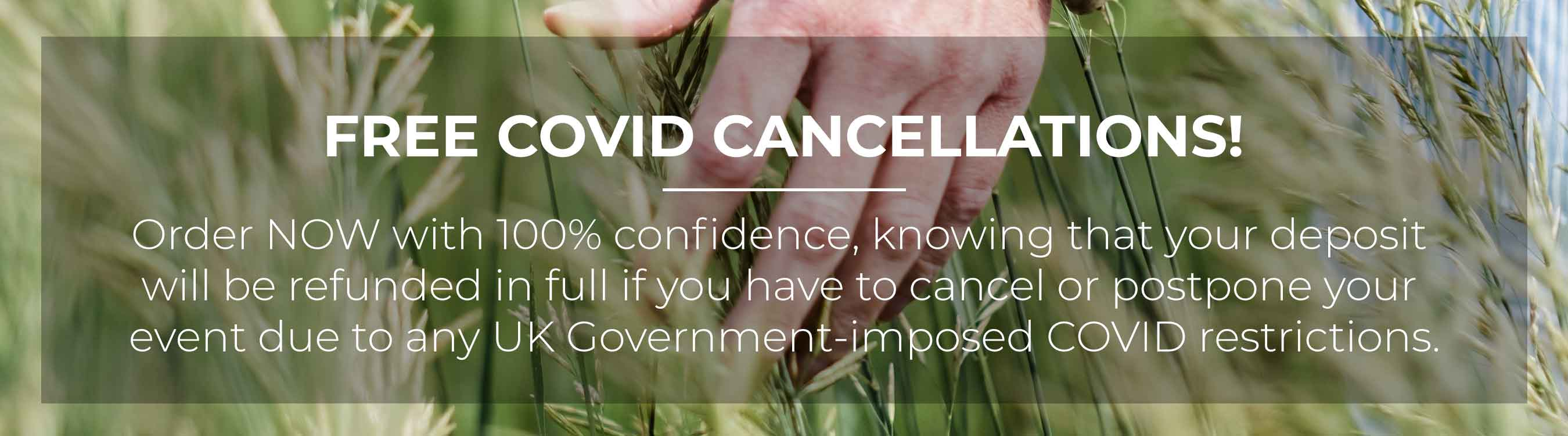 Free COVID cancellations