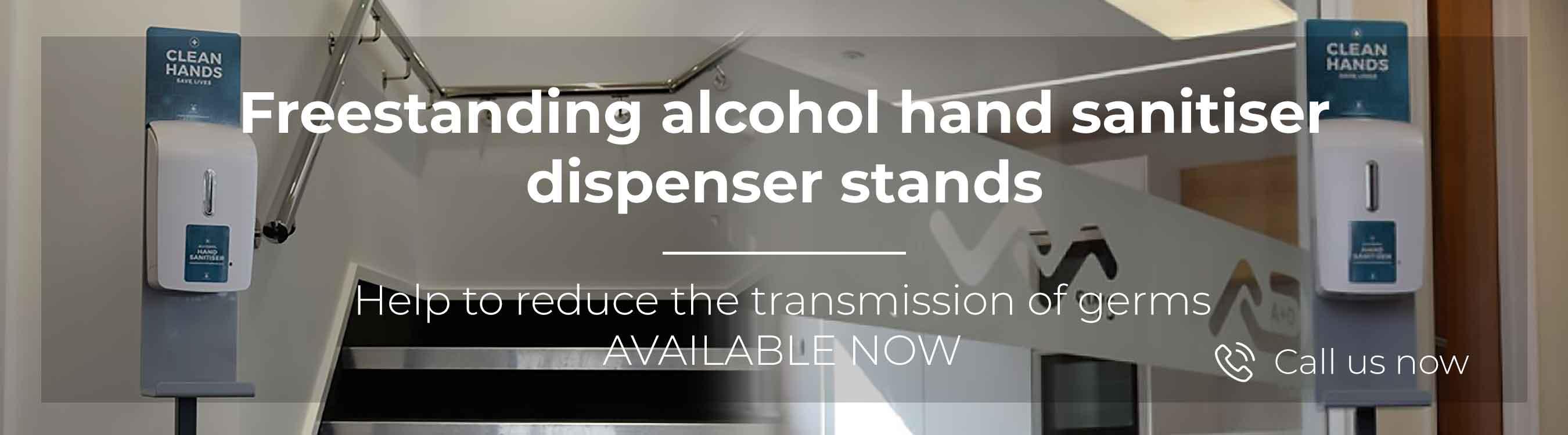 Hand Sanitiser Dispenser Hire