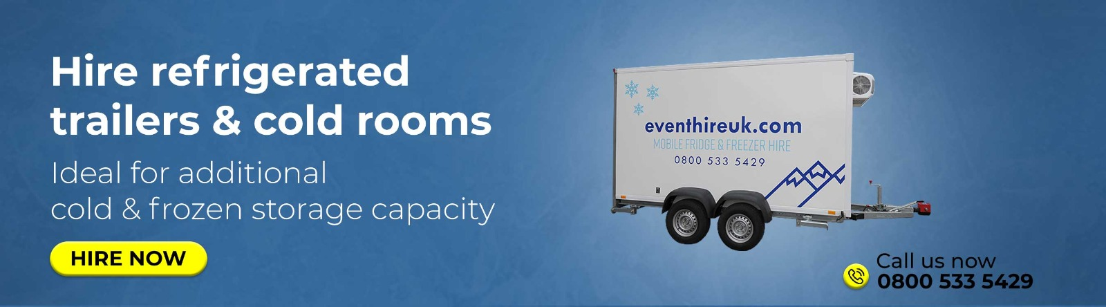 Refrigerated Trailer Hire